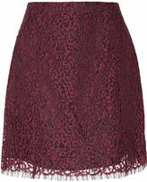 Carven Lace mini skirt