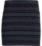 Icebreaker Vertex Knit Skirt - Women's Jet Heather/Black/Jet Heather M
