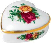 Royal Albert Old Country Roses Heart Box