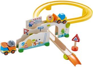 Haba Kullerbu Construction Site Car & Track Play Set