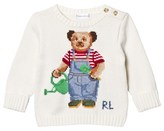 Ralph Lauren Cream Bear Jumper