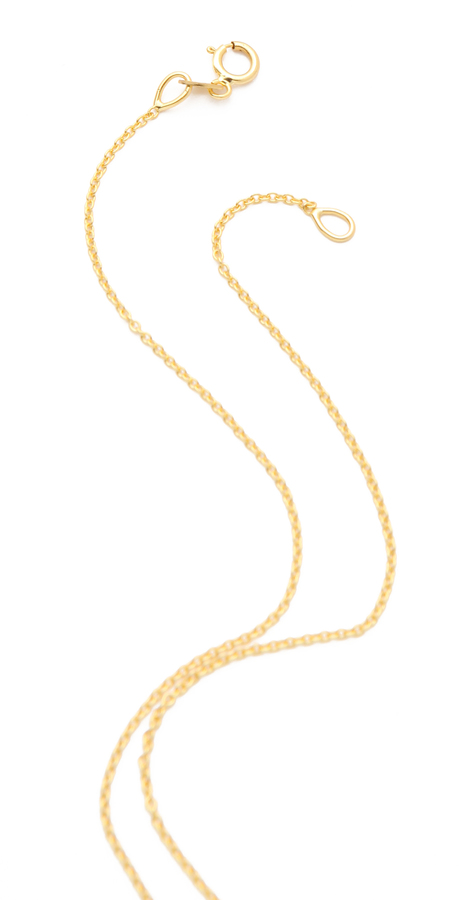 Jennifer Meyer Jewelry Diamond Pendant Necklace