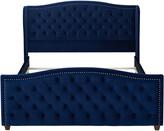 Jennifer Taylor Jenifer Taylor Marcella Tufted Wingback Upholstered Bed