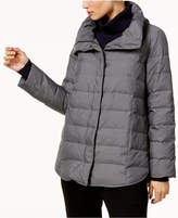 Eileen Fisher Stand-Collar Puffer Coat
