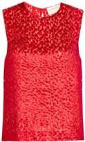 Maison Rabih Kayrouz Velvet Drops blouse