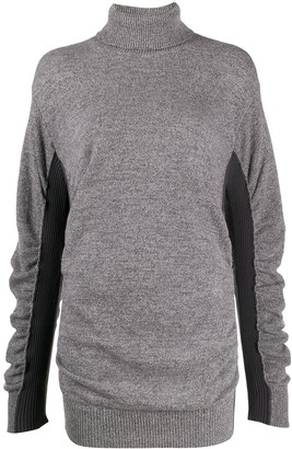 MM6 MAISON MARGIELA Two-Tone Roll Neck Jumper