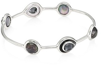 Ippolita Polished Rock Candy Sterling Silver & Multi-Stone Bangle Bracelet