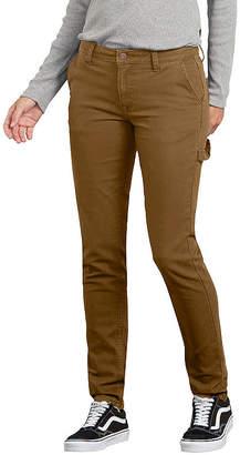 Dickies Womens Low Rise Slim Pant