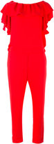 P.A.R.O.S.H. ruffled jumpsuit - women - Polyester - S