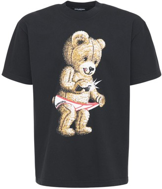 Dom Rebel Snap Cotton Jersey T-Shirt