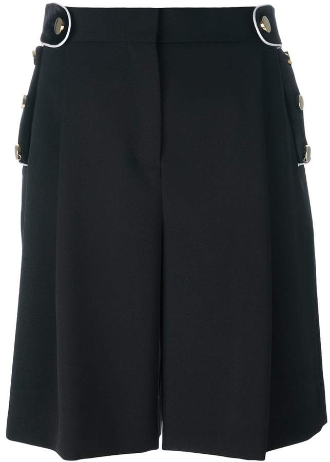 Givenchy wide leg shorts