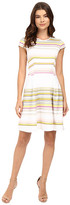 Ted Baker Aquai Carousel Stripe Skater Dress