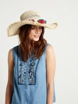 White Stuff Summer crochet hat