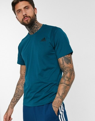 adidas Training t-shirt in teal