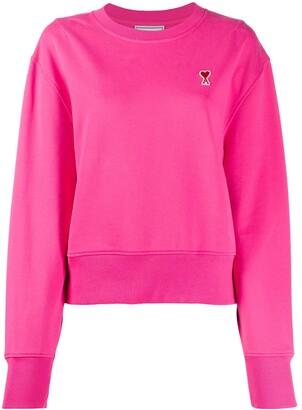 AMI Paris Ami De Coeur Patch Sweatshirt