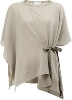 Lamberto Losani wrap detail knitted top - women - Cashmere - One Size