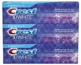 Crest 3D White Toothpaste 4.8 oz (3 pack)