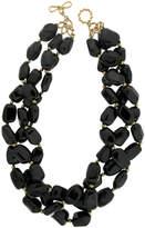Valentino Magro 18k Black Spinel 3-Strand Necklace