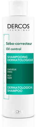 Vichy Dercos Oil Control Treatment Shampoo 200Ml