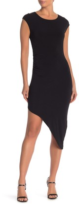 BCBGeneration Asymmetrical Hem Dress