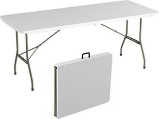 "Lavish Home 71"" Rectangular Folding Table"