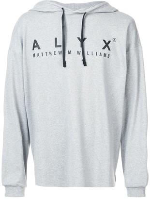 Alyx Logo-Print Hoodie