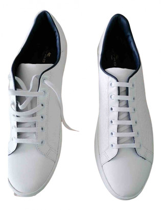 Etro White Rubber Trainers