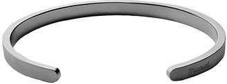 Miansai Singular Cuff (Matte Black) Bracelet