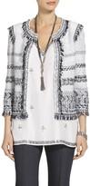 St. John Tajdar Tweed Knit Jacket