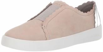 Cole Haan Women's Grand Crosscourt Street Scallop Slip on Sneaker
