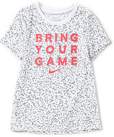 Nike Big Girls 7-16 Bring Your Game Dri-FIT Short-Sleeve Tee