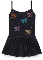 Jacques Moret Kids Colorful Sparkle Cami Dance Skirted Leotard (Little Girls & Big Girls)