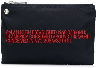 Calvin Klein Branded Small Pouch