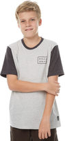 Billabong Kids Boys Shadow Contrast Tee Grey