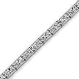 Zales 2 CT. T.W. Diamond Tennis Bracelet in 14K White Gold (I/I2)
