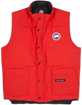 Canada Goose Freestyle Red Quilted Shell Gilet