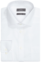 John Lewis Non Iron Cotton Twill Regular Fit Shirt, White