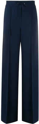 Edward Achour Paris Wide-Leg Drawstring Trousers