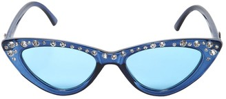 MonnaLisa Embellished Acetate Sunglasses