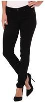 Paige Skyline Skinny in Black Shadow Women's Jeans