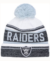 New Era Oakland Raiders Snow Dayz Knit Hat, A Macy's Exclusive Style