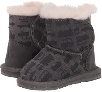 Emu Cars Trucks (Infant) (Charcoal) Boys Shoes