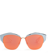Christian Dior Mirrored contrast sunglasses