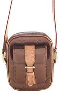 Louis Vuitton Bronze Vernis Leather Christie Small PM Crossbody Handbag MHL