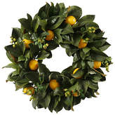 "Winward Silks 24"" Lemon Wreath"