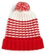 Gucci Knit Wool Pom-Pom Hat