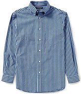 Roundtree & Yorke Long-Sleeve Check Sportshirt