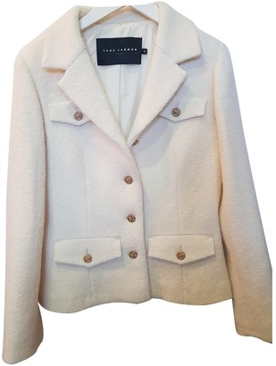 Tara Jarmon White Wool Jackets
