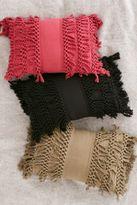 Urban Outfitters Venice Net Tassel Bolster Pillow