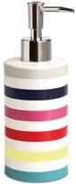 Kate Spade Candy Stripe Lotion Pump